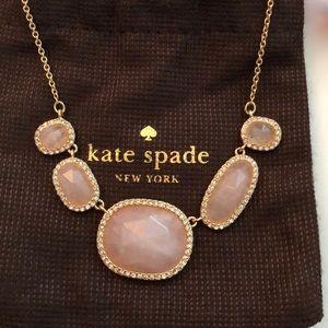 Light Pink Kate Spade Statement Necklace